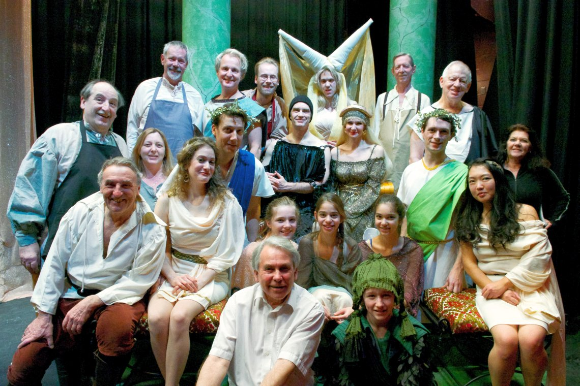 A Midsummer Night's Dream (January 10-19, 2013) - Stage ...